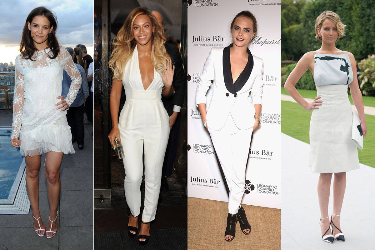 The 17 Chicest White Outfits Celebrities Wore This Summer Beauty Tips Celebrity Style And